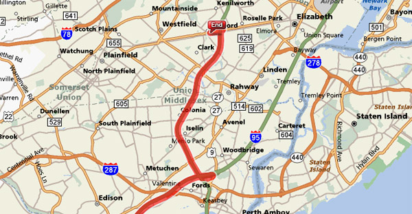 Cartek online contact us for Directions to garden state parkway south